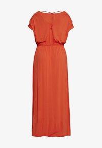Dorothy Perkins Curve - CURVE TIE BACK MAXIDRESS - Maxi šaty - orange - 1
