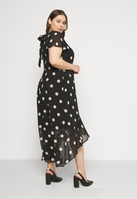 Dorothy Perkins Curve - CURVE OCCASION SLEEVE HIGH LOW MAXI DRESS BLUSH SPOT - Maxi šaty - multi - 2