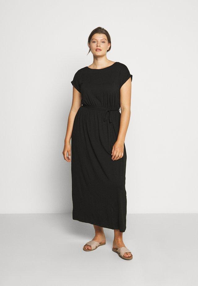 TIE BACK DRESS - Długa sukienka - black