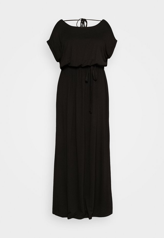 TIE BACK DRESS - Maksimekko - black