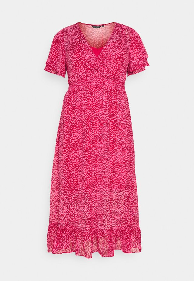 ANIMAL DRESS - Robe d'été - pink