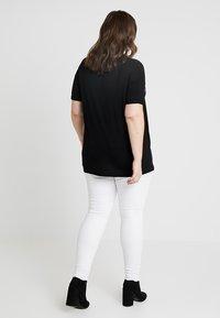 Dorothy Perkins Curve - MERCI LEOPARD - T-shirts med print - black - 3