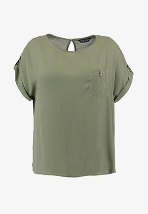 SOFT TEE - Bluzka - khaki