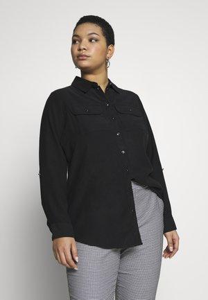 UTILITY - Button-down blouse - black