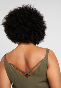 Dorothy Perkins Curve - CROSS BACK CAMISOLE - Top - khaki - 4