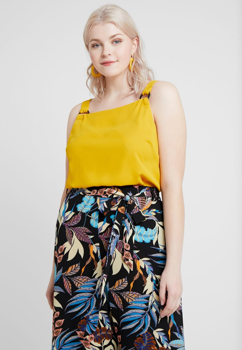Dorothy Perkins Curve - TAB BUILT UP CAMISOLE - Blouse - ochre