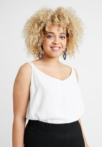 Dorothy Perkins Curve - BACK BUILT UP CAMISOLE - Top - white - 0