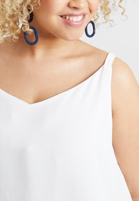 Dorothy Perkins Curve - BACK BUILT UP CAMISOLE - Top - white - 4