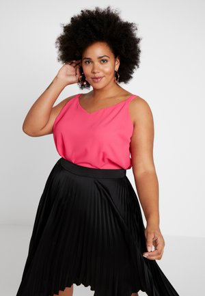 BACK BUILT UP CAMISOLE - Débardeur - pink
