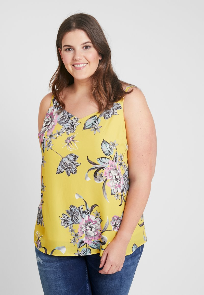 Dorothy Perkins Curve - BACK BUILT UP CAMISOLE - Top - multi-coloured