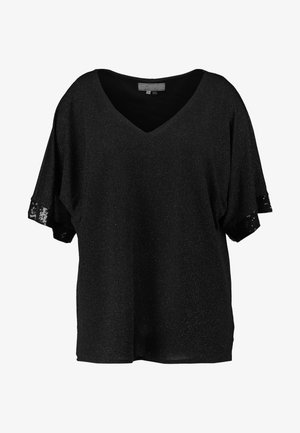 BLACK GLITTER - Blouse - black
