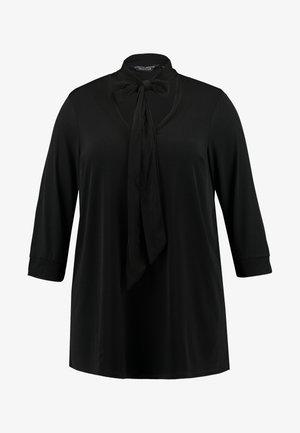 ITY PUSSYBOW BLOUSE - Pitkähihainen paita - black