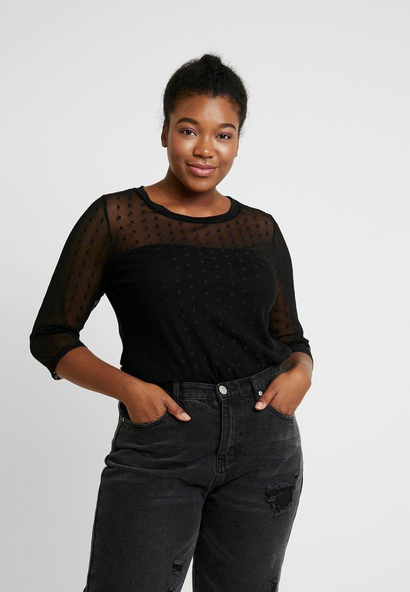 Dorothy Perkins Curve - GEO - T-shirts med print - black