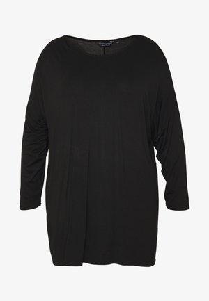 BATWING SLEEVE DETAIL TEE - Maglietta a manica lunga - black