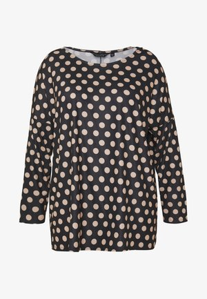 BATWING SLEEVE DETAIL SPOT - T-shirt à manches longues - black