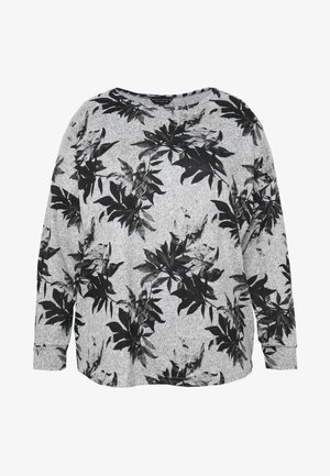 BRUSHED FLORAL PRINT - Pullover - multi