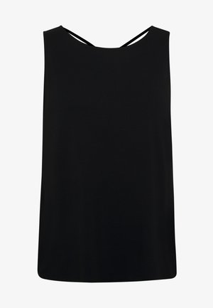 CURVE CROSS BACK - Top - black