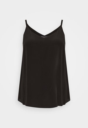 CURVE VNECK CAMI - Top - black