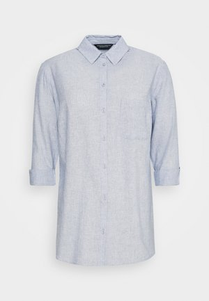 CURVE CHAMBRAY SHIRT - Bluser - blue