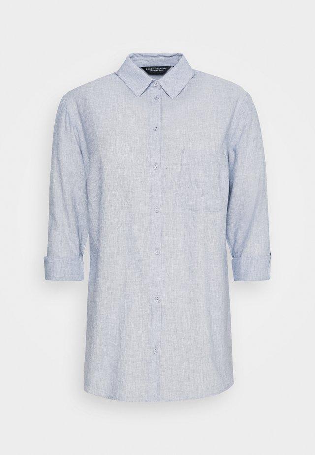 CURVE CHAMBRAY SHIRT - Bluzka - blue