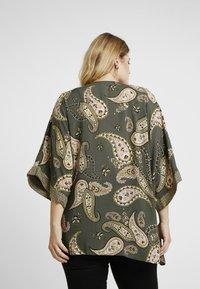 Dorothy Perkins Curve - PAISLEY KIMONO - Summer jacket - khaki - 2
