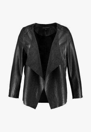 COLLAR WATERFALL - Blazer - black
