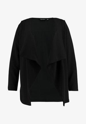 WATERFALL TEXTURED JACKET - Blazere - black