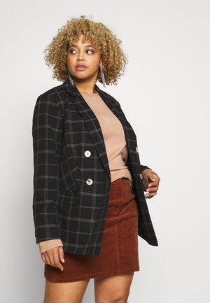 CURVE CHECK  - Blazer - black