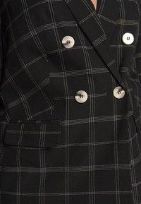Dorothy Perkins Curve - CURVE CHECK  - Blazer - black - 5