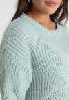Dorothy Perkins Curve - JUMPER - Strikkegenser - mint green