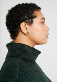 Dorothy Perkins Curve - ROLL NECK - Neule - green - 4
