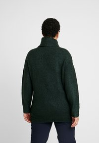 Dorothy Perkins Curve - ROLL NECK - Neule - green - 2