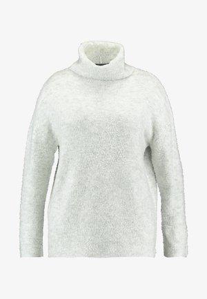 ROLL NECK JUMPER - Stickad tröja - grey