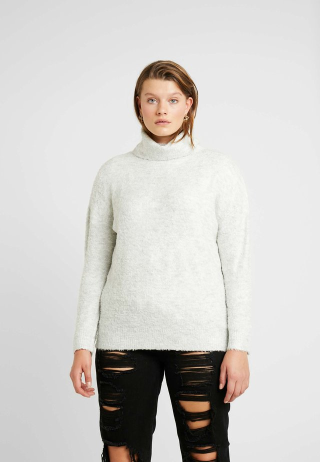 ROLL NECK JUMPER - Strikkegenser - grey