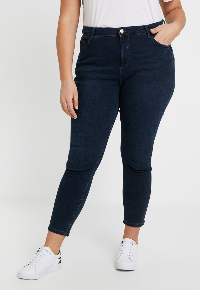 Dorothy Perkins Curve - DARCY - Jeans Skinny Fit - blue black