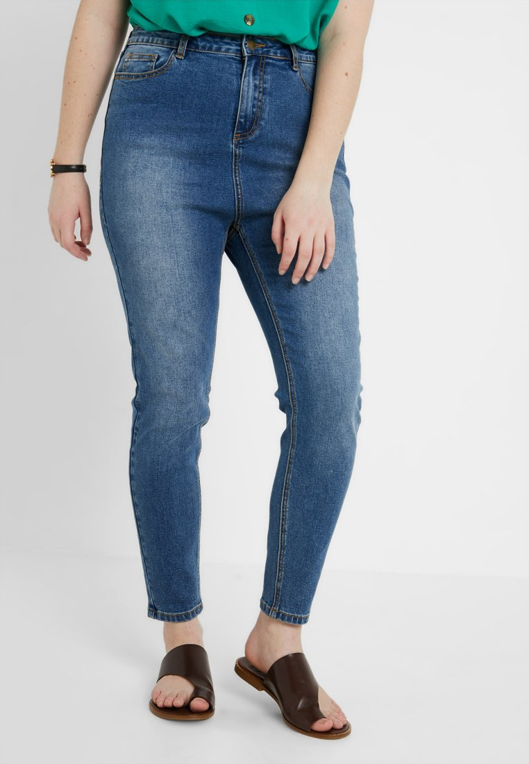 Dorothy Perkins Curve - DISCO  - Jeans Skinny Fit - mid wash