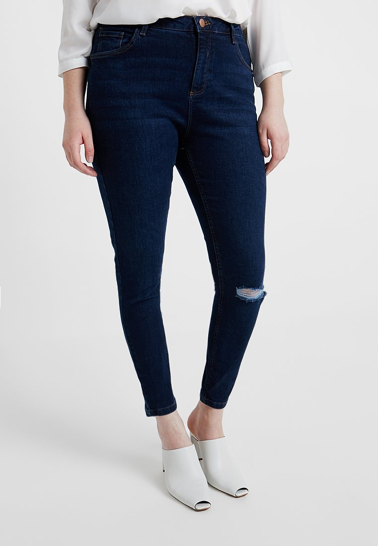 Dorothy Perkins Curve - DARCY - Jeans Skinny Fit - indigo authentic