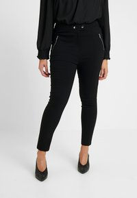 Dorothy Perkins Curve - Jeansy Skinny Fit - black - 0