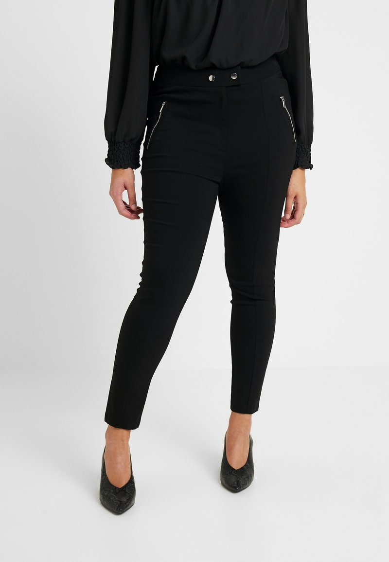 Dorothy Perkins Curve - Jeansy Skinny Fit - black