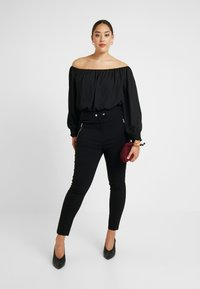 Dorothy Perkins Curve - Jeansy Skinny Fit - black - 1