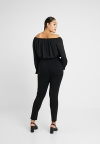 Dorothy Perkins Curve - Jeansy Skinny Fit - black - 2