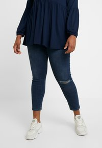 Dorothy Perkins Curve - DARCY - Jeans Skinny Fit - indigo - 0