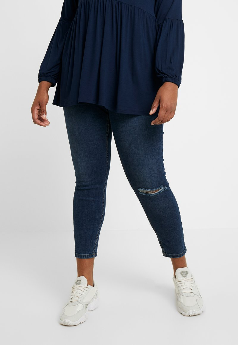Dorothy Perkins Curve - DARCY - Jeans Skinny Fit - indigo