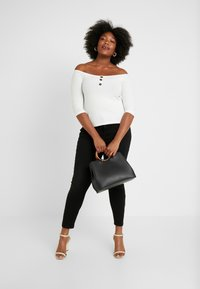 Dorothy Perkins Curve - DARCY - Jeans Skinny - black - 1