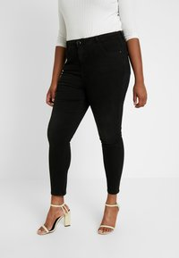 Dorothy Perkins Curve - DARCY - Jeans Skinny - black - 2