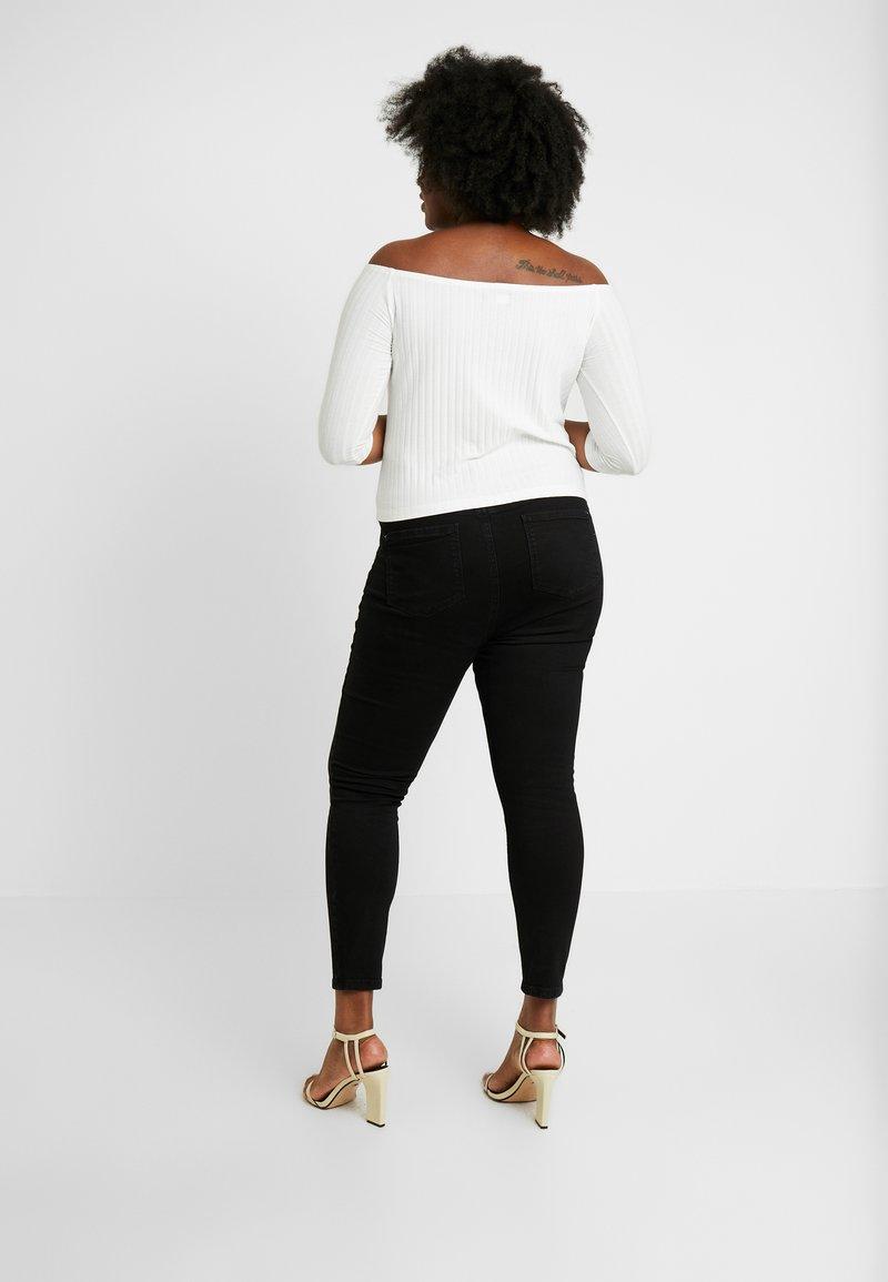 Dorothy Perkins Curve - DARCY - Jeans Skinny Fit - black