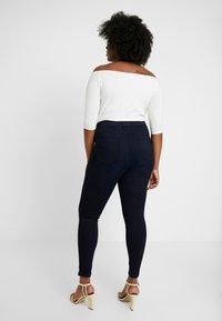 Dorothy Perkins Curve - Spodnie materiałowe - blue - 2