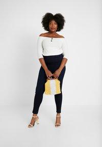 Dorothy Perkins Curve - Spodnie materiałowe - blue - 1