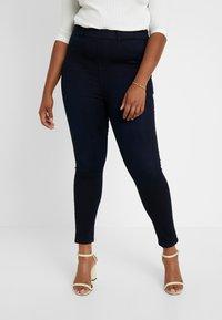 Dorothy Perkins Curve - Spodnie materiałowe - blue - 0