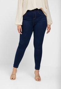 Dorothy Perkins Curve - Pantalon classique - indigo - 0